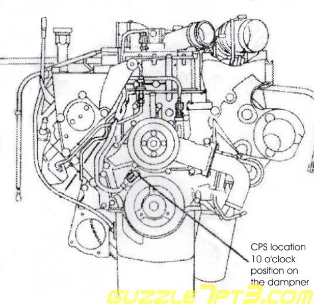 1227541 1997 F250 7 3l Low Rpm Surges Culprits besides 2000 Ford Focus Se Engine Diagram moreover Ford 6 0l Turbo Set Up besides 1105125 Icp And Uvhc moreover Santa Fe Wiring Diagram. on 6 0 powerstroke crank sensor location